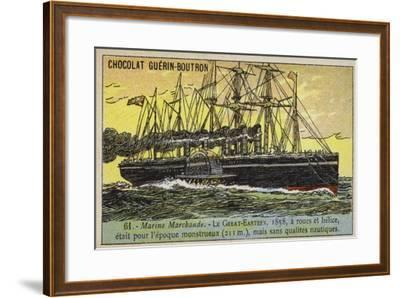 Ss Great Eastern, 1858--Framed Giclee Print