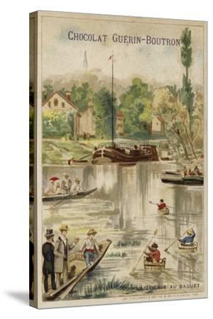 Washtub Race--Stretched Canvas Print