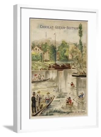 Washtub Race--Framed Giclee Print