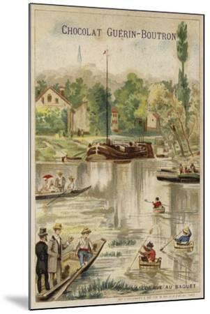 Washtub Race--Mounted Giclee Print