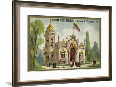 Republic of Venezuela--Framed Giclee Print