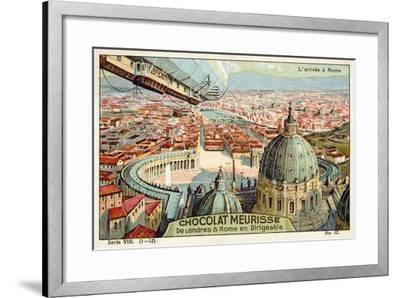 Arrival at Rome--Framed Giclee Print