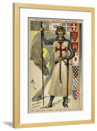 Knight, 13th Century--Framed Giclee Print