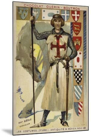Knight, 13th Century--Mounted Giclee Print