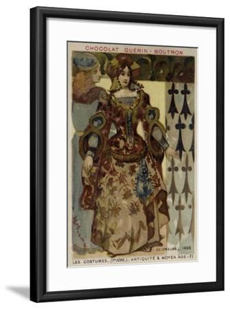 Lord and Lady, 1495--Framed Giclee Print