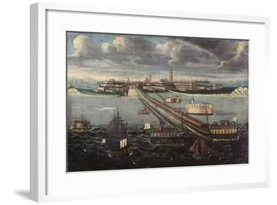 View of Dunkirk--Framed Giclee Print