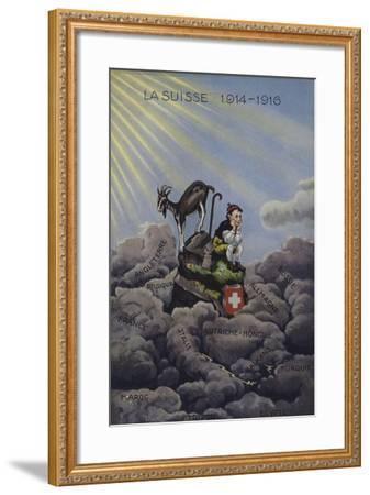 La Suisse 1914-1916--Framed Giclee Print