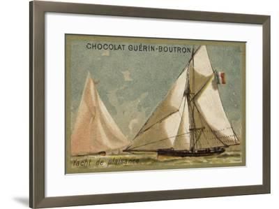 Pleasure Yacht--Framed Giclee Print