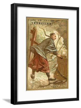 The Compass--Framed Giclee Print