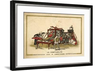 Accounting--Framed Giclee Print