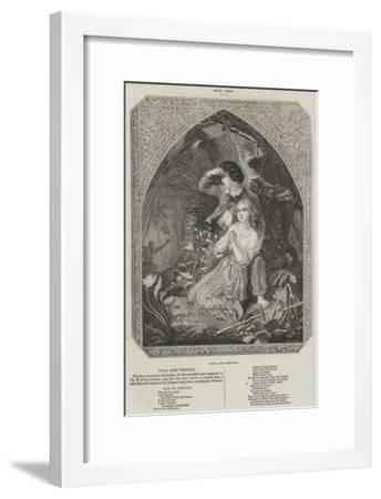 Paul and Virginia--Framed Giclee Print
