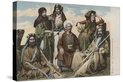 Group of Syrians--Stretched Canvas Print