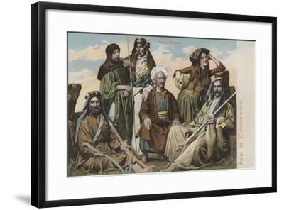 Group of Syrians--Framed Giclee Print