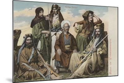 Group of Syrians--Mounted Giclee Print