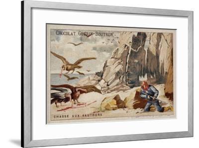 Hunting Vultures--Framed Giclee Print