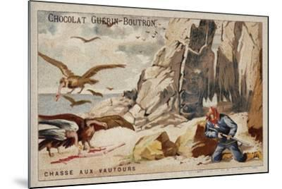 Hunting Vultures--Mounted Giclee Print