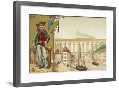 Morlaix, Brittany--Framed Giclee Print