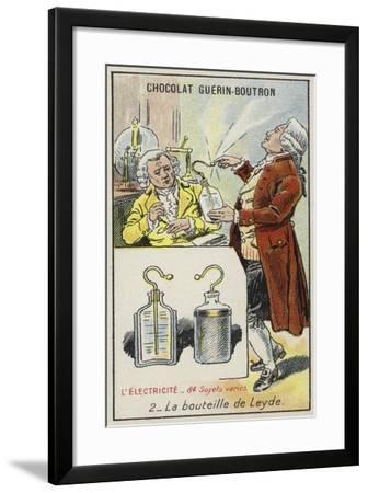 Leyden Jar--Framed Giclee Print