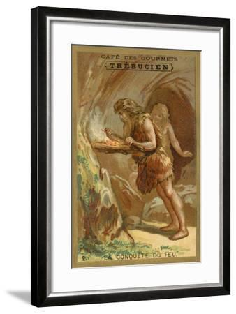The Conquest of Fire--Framed Giclee Print
