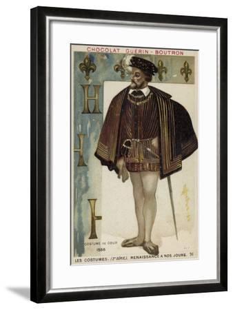 Court Dress, 1556--Framed Giclee Print