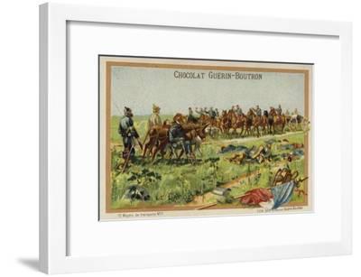 Mule Cacolet--Framed Giclee Print