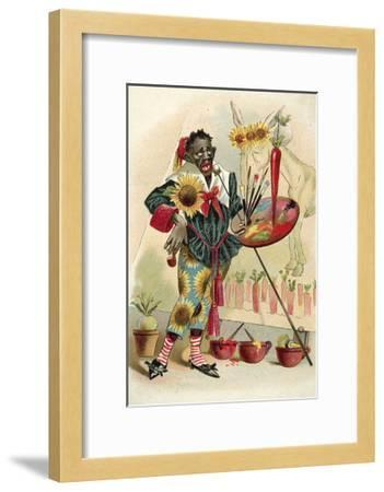 Negro Artist--Framed Giclee Print