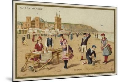Dieppe, France--Mounted Giclee Print