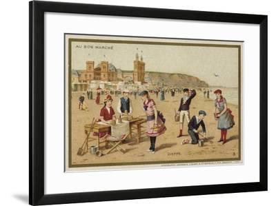 Dieppe, France--Framed Giclee Print