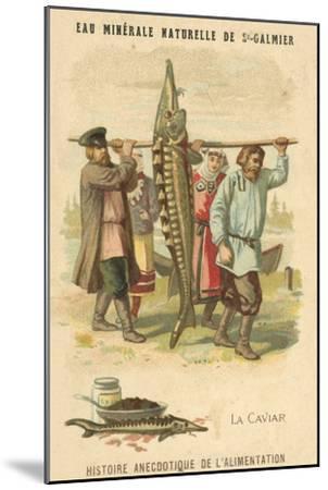 Caviar--Mounted Giclee Print