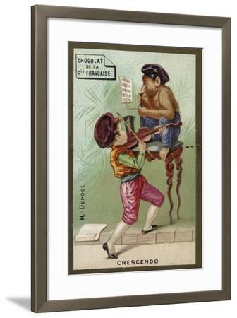 Crescendo--Framed Giclee Print