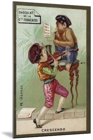 Crescendo--Mounted Giclee Print