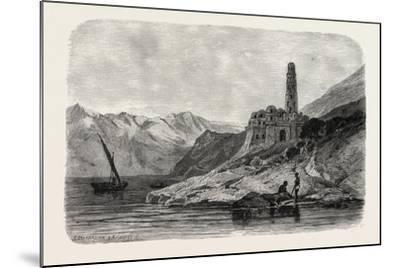 Reins of a Koptic Monastery Near Philae. Egypt, 1879--Mounted Giclee Print
