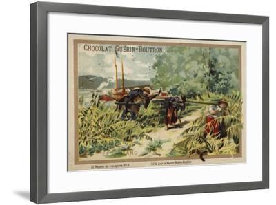 Barge--Framed Giclee Print