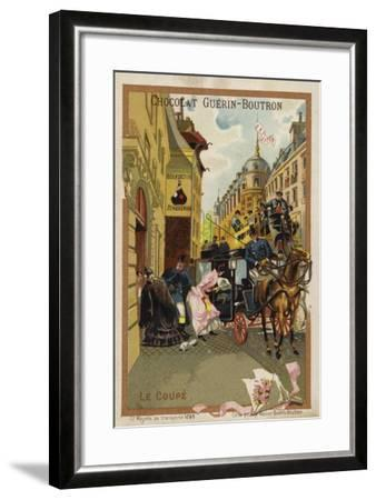 Coupe--Framed Giclee Print
