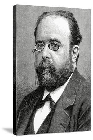 Teodoro Llorente Olivares (1836-1911), Spanish Writer--Stretched Canvas Print