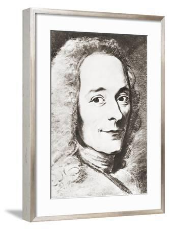 Voltaire--Framed Giclee Print