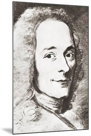 Voltaire--Mounted Giclee Print