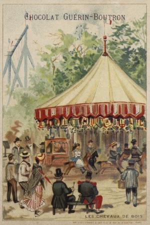 Carousel--Framed Giclee Print