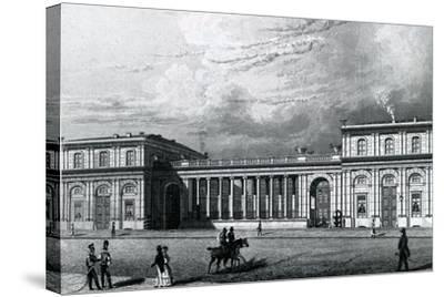 The Prinz-Albrecht-Palais, 1833--Stretched Canvas Print