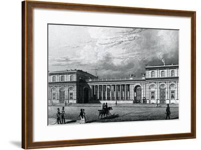 The Prinz-Albrecht-Palais, 1833--Framed Giclee Print