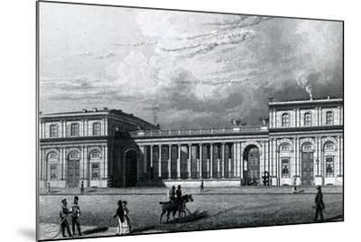 The Prinz-Albrecht-Palais, 1833--Mounted Giclee Print