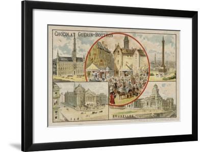 Brussels--Framed Giclee Print