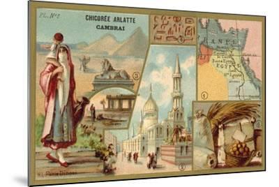 Egypt--Mounted Giclee Print