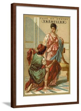 Silk--Framed Giclee Print