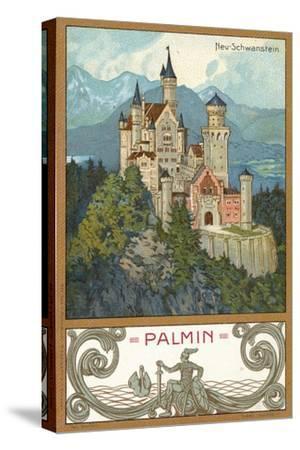 Neuschwanstein Castle, Bavaria--Stretched Canvas Print