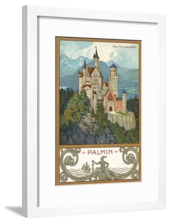 Neuschwanstein Castle, Bavaria--Framed Giclee Print