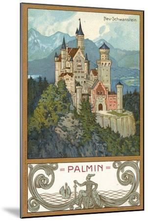 Neuschwanstein Castle, Bavaria--Mounted Giclee Print