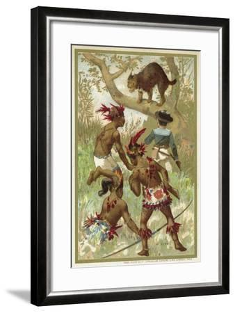 The Lynx--Framed Giclee Print