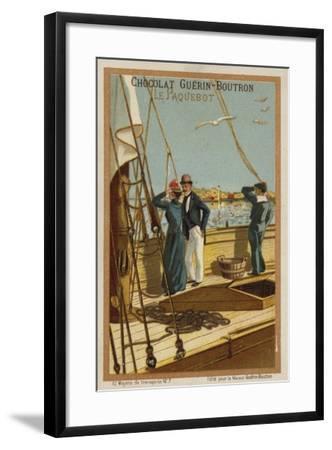 Ship--Framed Giclee Print
