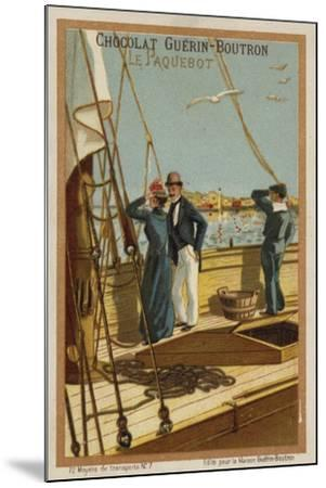 Ship--Mounted Giclee Print